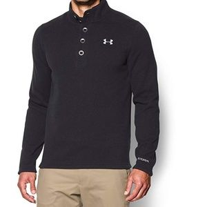 UNDER ARMOUR Mens Specialist Storm Sweater Black